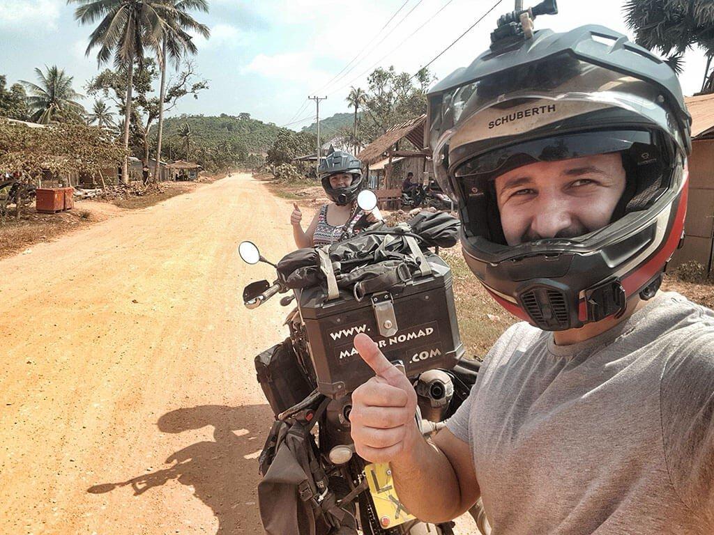 Cambodia motorcycle travel
