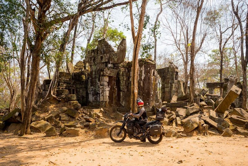 Cambodia adventure motorcycle travel