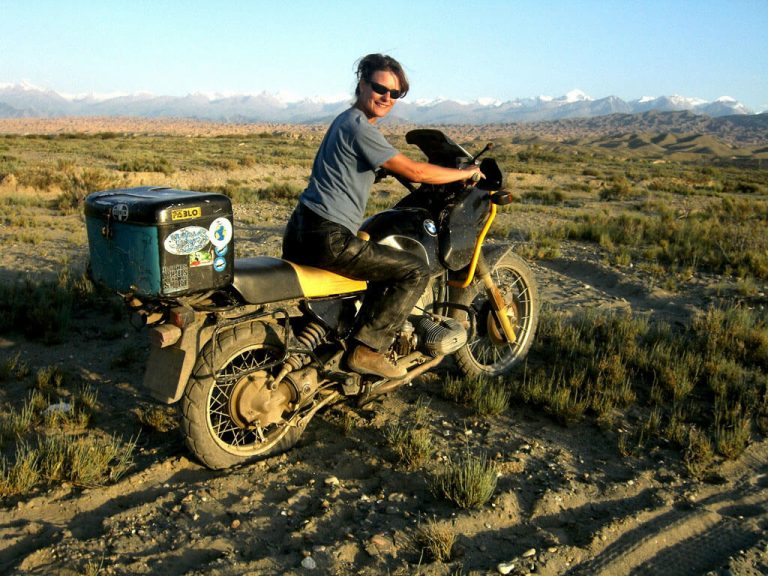 Tiffany Coates adventure motorcycle traveller