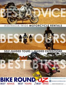 Bike around Oz Motorcycle Tour and Rental Company in Australia