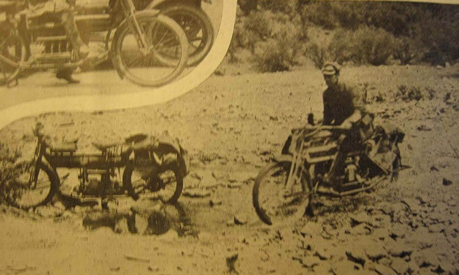 Carl Stearns Clancy The First Round-the-World Motorcycle Ride