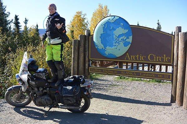 Danell Lynn Longest Motorcycle Journey World Record