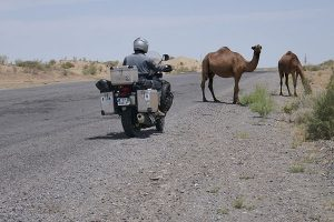 adventure motorcycle travel guides for Turkmenistan
