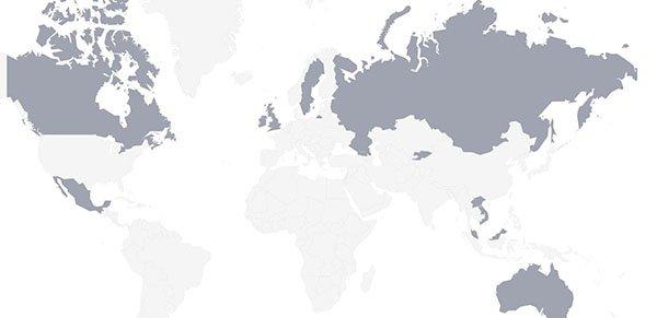 Motorcycle Rental Companies Map