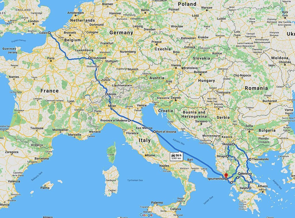 Greece and North Macedonia Motorcycle Guide