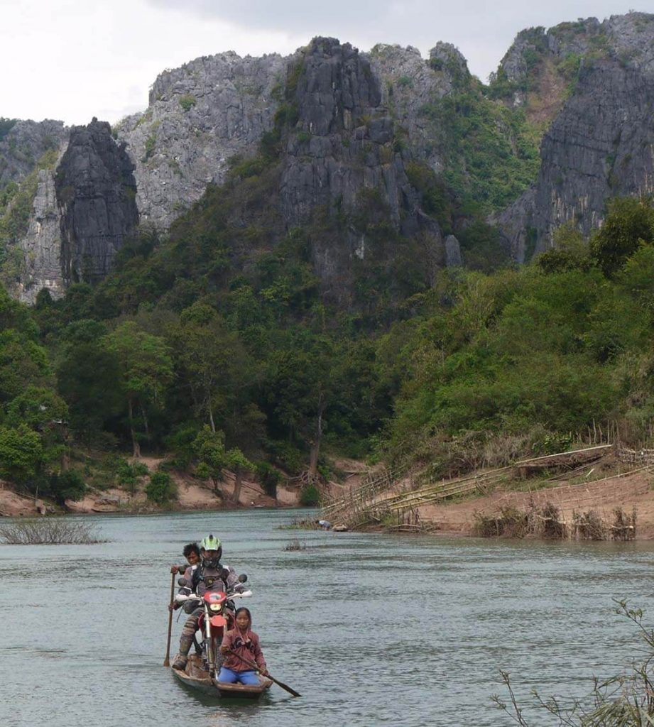 Motorcycle Travel and off-roading inLaos
