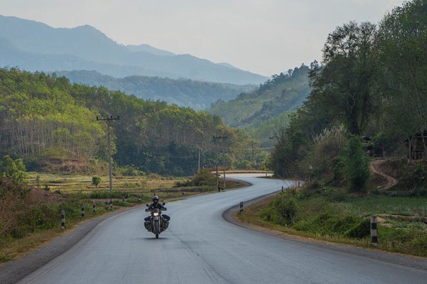 Motorcycle travel guide for Laos