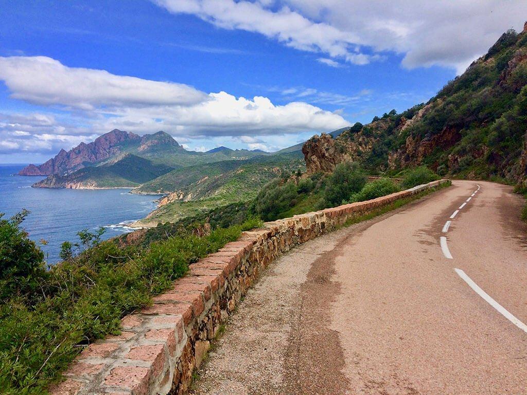 On the D81 near Piana, Corsica