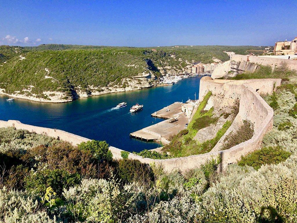 Port of Bonafacio, Corsica