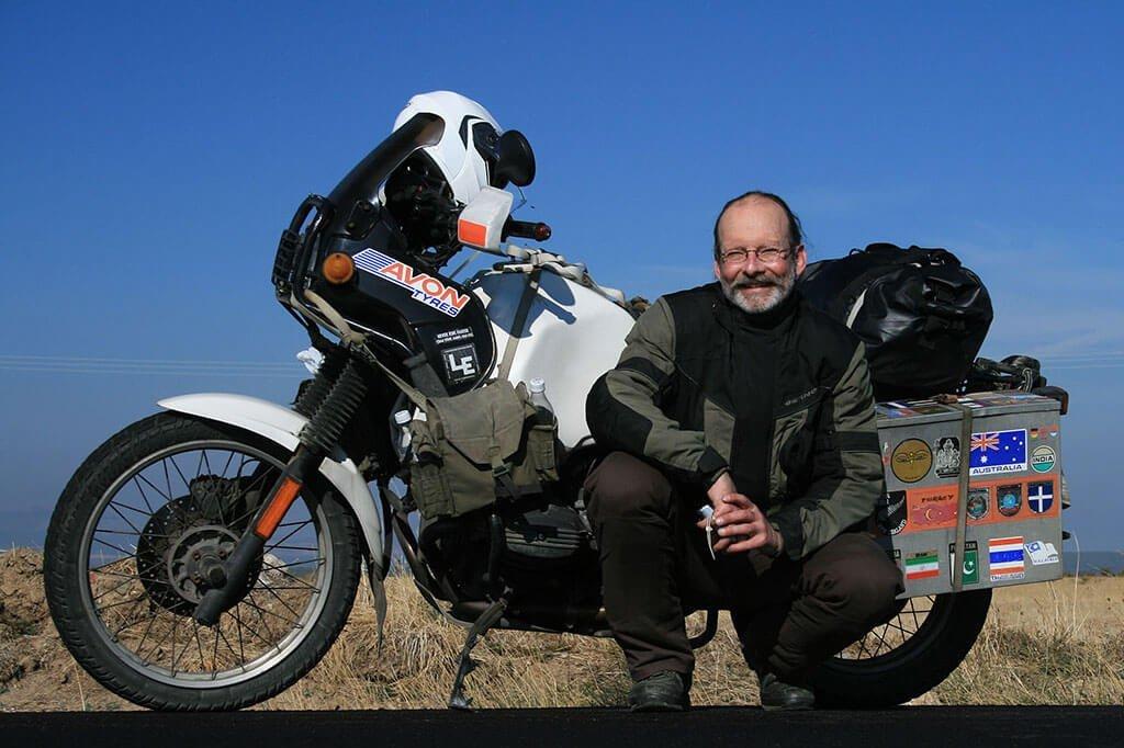 Sam Manicom Motorcycle adventure traveller