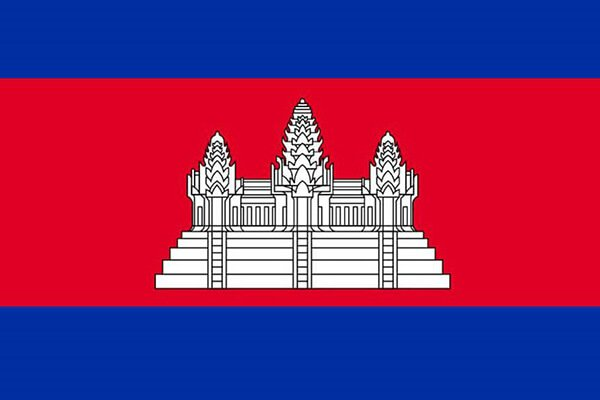 Cambodia flag motorcycle travel and shipping companies