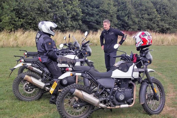 TrailQuest Royal Enfield Himalayan Off Road Training (5)