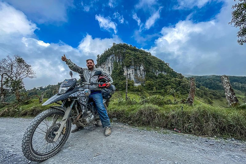 Colombia Motorcycle Travel