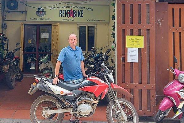 Danny Pearce Rent A Bike Vietnam