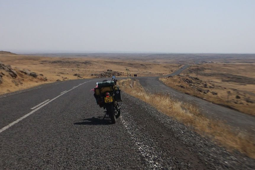 Motorcycle Trip to Iraq Mad or Nomad