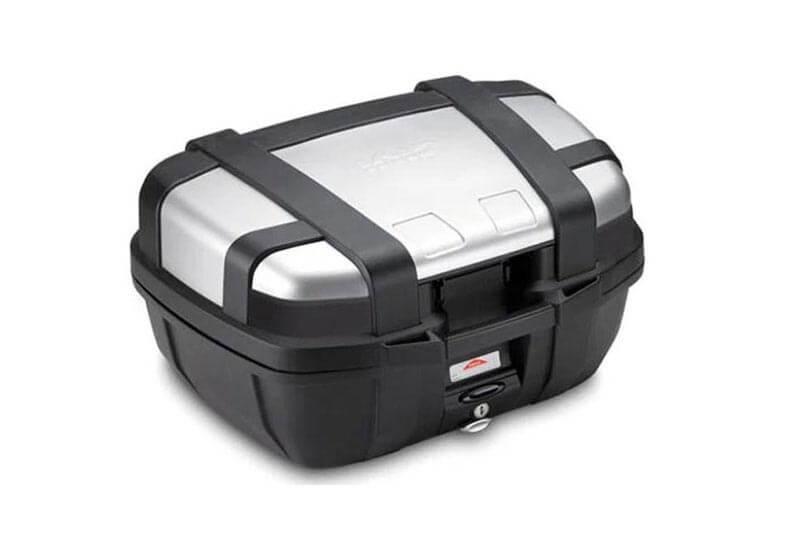 Givi plastic motorcycle top box
